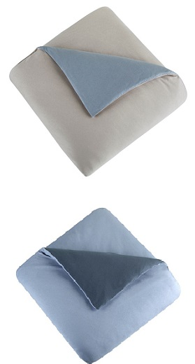 JERSEY KNITTED DUVET COVERS MADE OF PURE TURKISH COTTON