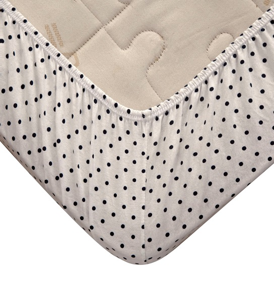 JERSEY FITTED BABY CRIB SHEETS