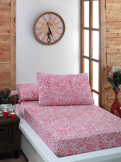 JERSEY KNITTED PRINTED BED SHEET SETS