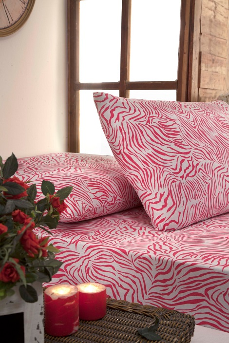 JERSEY KNITTED PRINTED FITTED SHEET & PILLOWCASE  SETS
